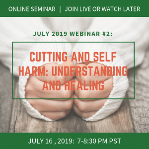 Cutting and Self-Harm: Understanding and Healing