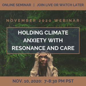 Holding Climate Anxiety with Resonance and Care