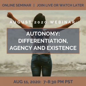 Autonomy: Differentiation, Agency, and Existence