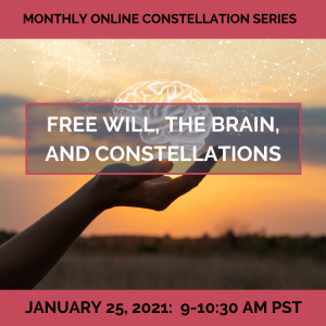 Free Will, the Brain, and Constellations – January 25, 2021