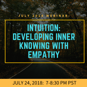 Intuition: Supporting Knowing Presence with Empathy and Research