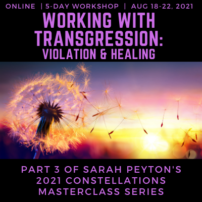 Working with Transgression: Violation and Healing