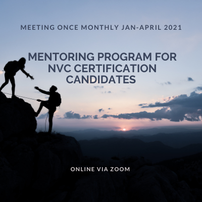 Mentoring program for NVC Certification Candidates – Quarter 1, 2021