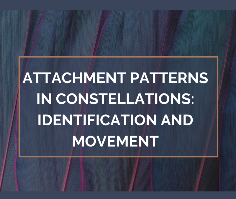 Attachment Patterns in Constellations: Identification and Movement