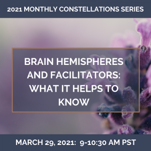 Brain Hemispheres and Facilitators: What It Helps to Know – March 29, 2021