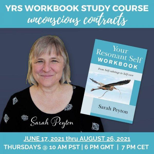 sRAH PEYTON WITH YOUR RESONANT SELF WORKBOOK