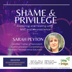 Protected: Shame and Privilege with Sarah Peyton hosted by Living Bridges