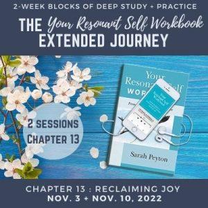 Your Resonant Self Workbook: Chapter 13 – Reclaiming Joy