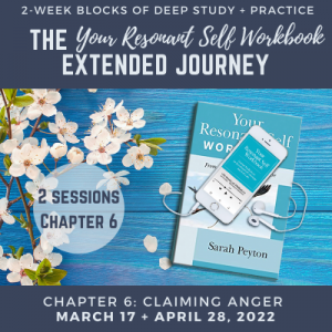 Your Resonant Self Workbook: Chapter 6 – Claiming Anger's Life-Giving Force