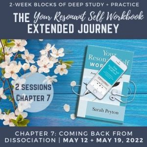 Your Resonant Self Workbook: Chapter 7 – Coming Back from Dissociation