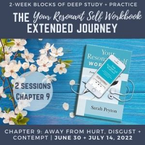Your Resonant Self Workbook: Chapter 9 – Moving away from Hurt, Disgust and Contempt toward Trust