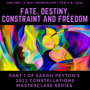 Fate, Destiny, Constraint and Freedom
