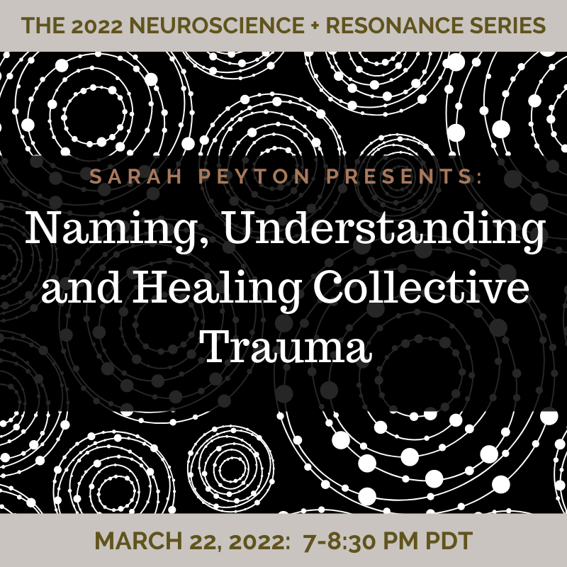 Naming, Understanding and Healing Collective Trauma